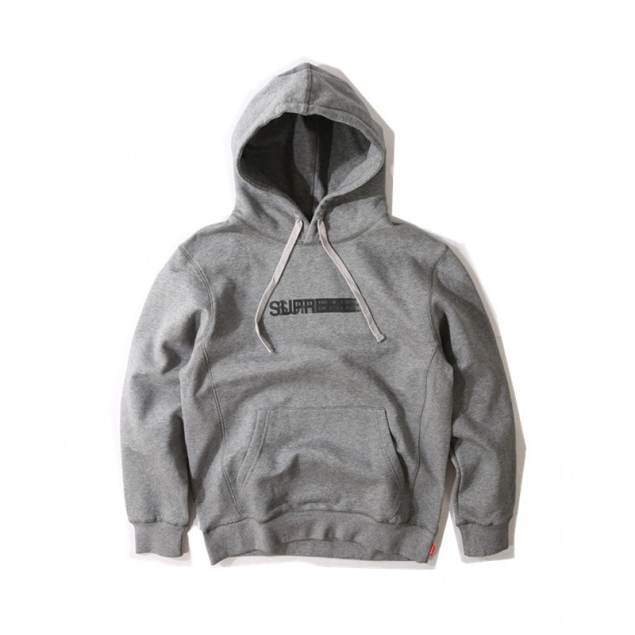 Supreme 16SS Motion Logo Pouch Hoodie (Grey)