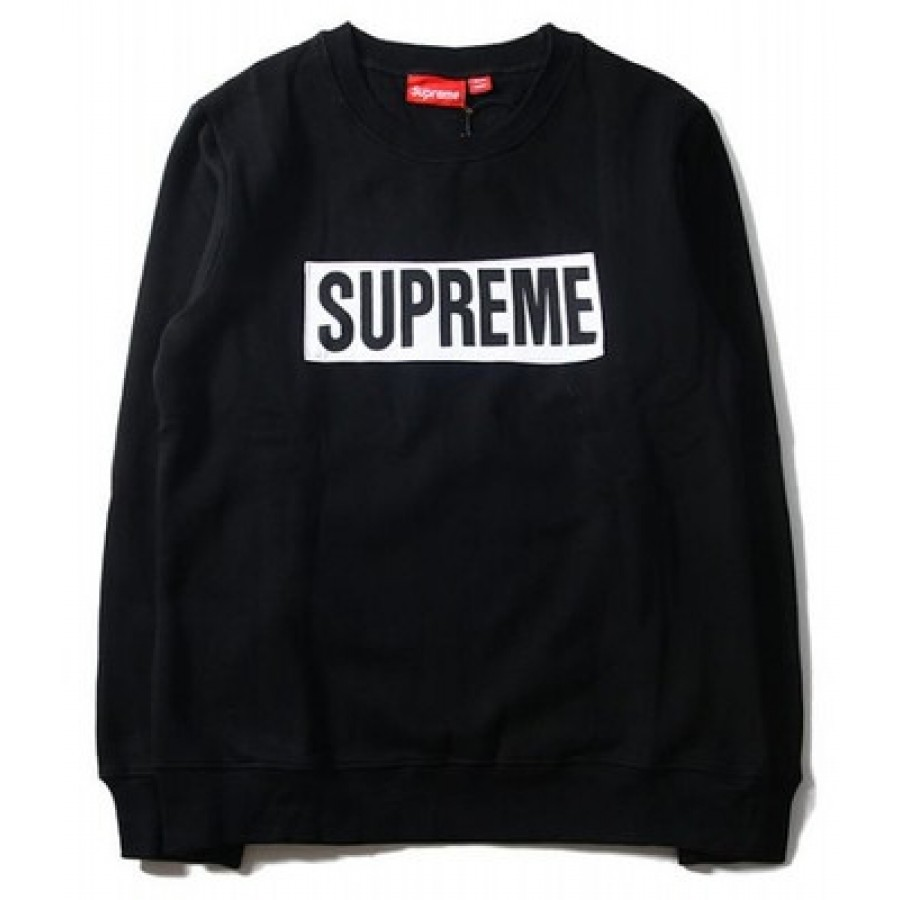 Supreme Box Logo Marathon Sweater (Black)