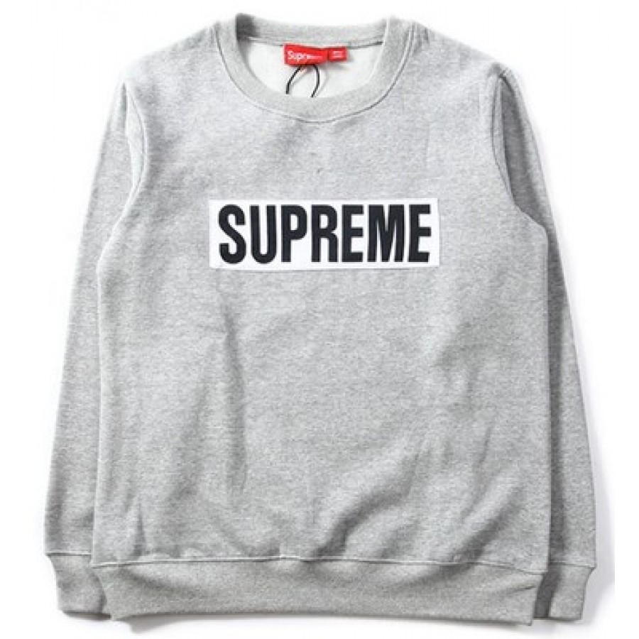 Supreme Box Logo Marathon Sweater (Gray)