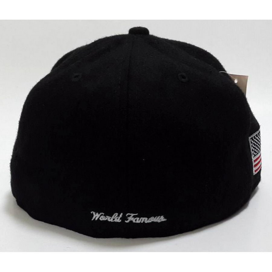 Supreme Box Wool Fitted Hats (Black)