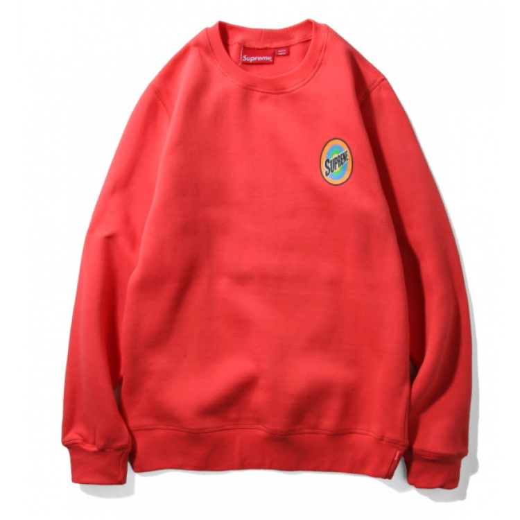 Supreme Color Circle Sweater (Red