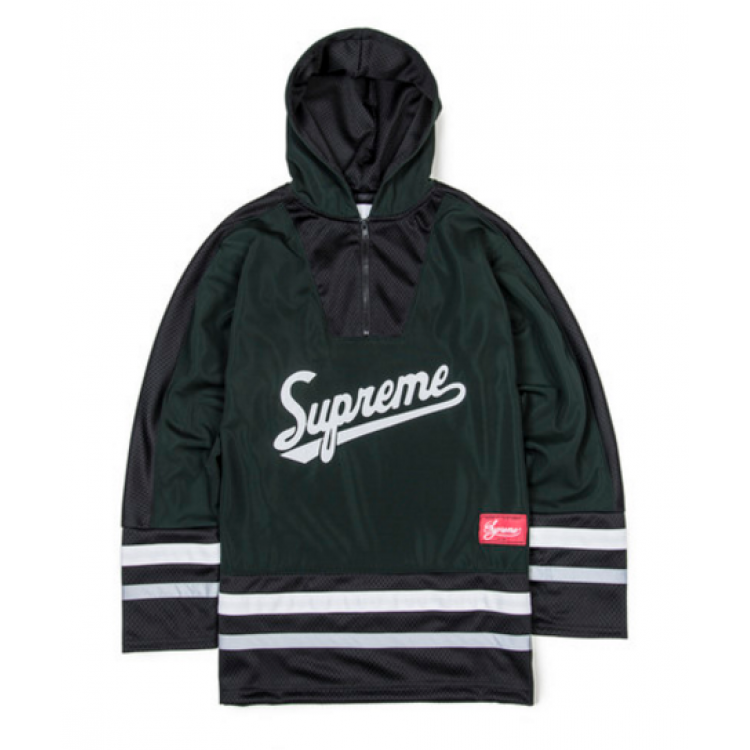 Supreme Hockey Jersey Shirt (Black)
