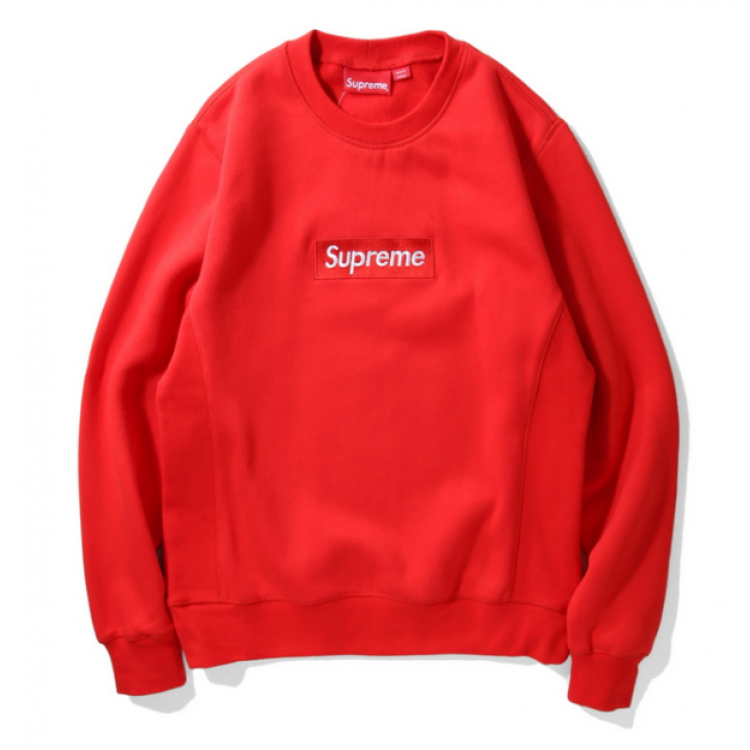 Supreme Label Sweater (Red)