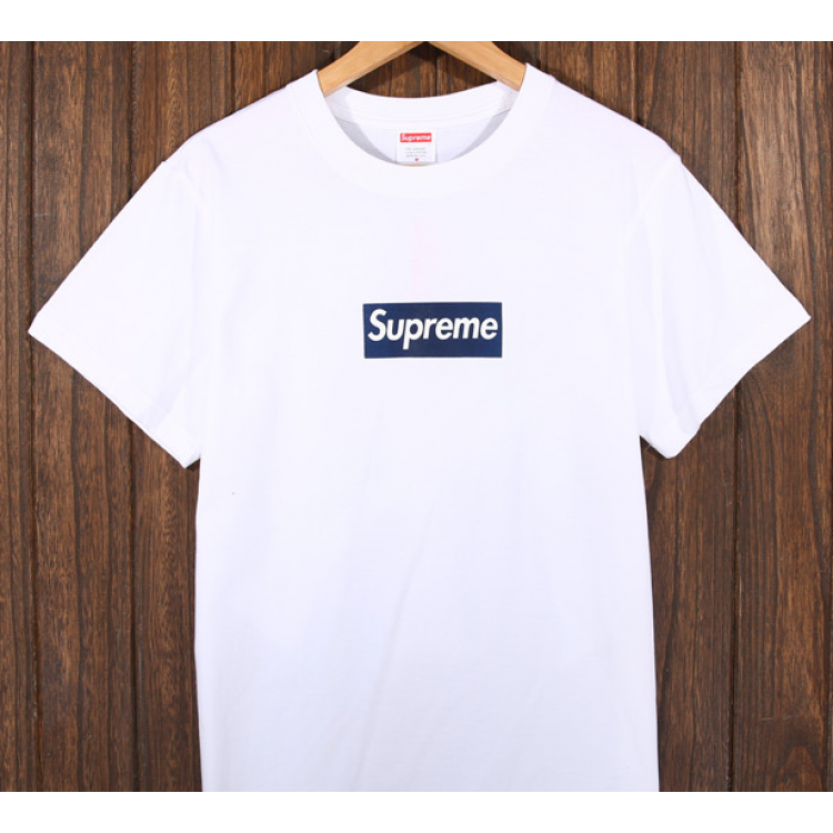 Supreme Logo T-Shirt (White)