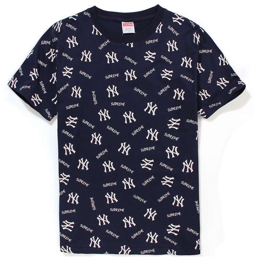 Supreme NY Supreme T-Shirt (Navy/Blue)
