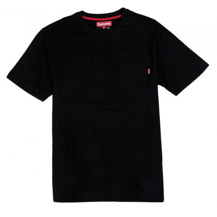 Supreme NYC Pocket T-shirt (Black)