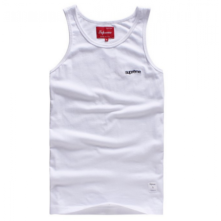 Supreme NYC Simple Tank Top (White)