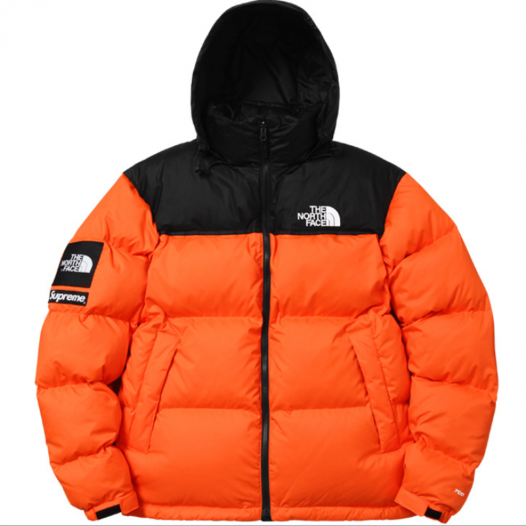 Supreme North Face Jacket (Orange)