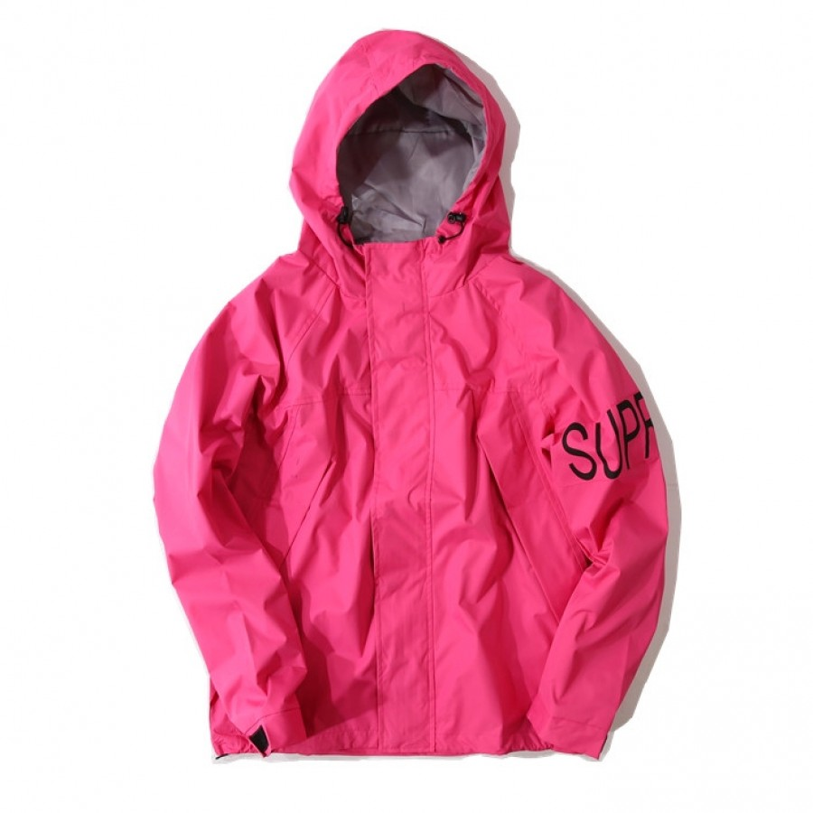 Supreme Print Sleeve Wind Jacket (Pink)