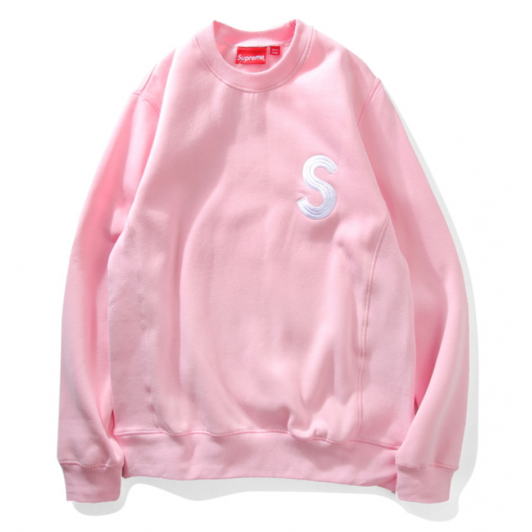 Supreme S Crewneck Sweater (Pink)