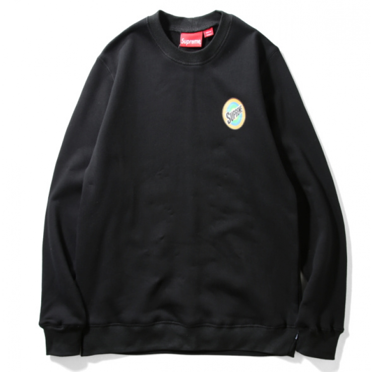 Supreme Spin Circle Sweater (Black)