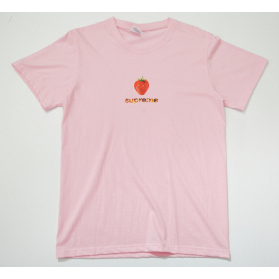 Supreme Strawberry T-Shirt (Pink)