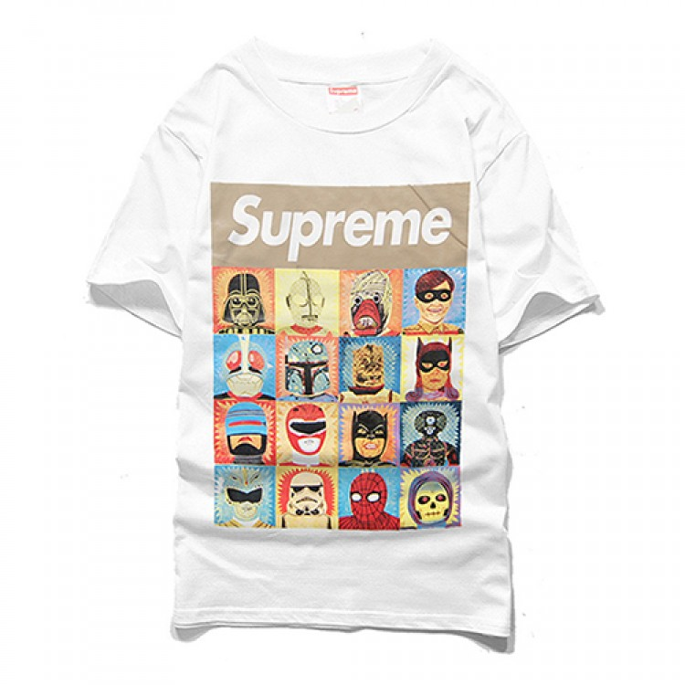 Supreme Superheroes T-shirt (White)