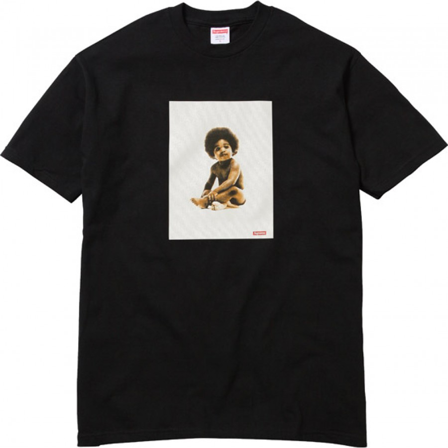 Supreme x Biggie Badboy T-Shirt Collection (Black)