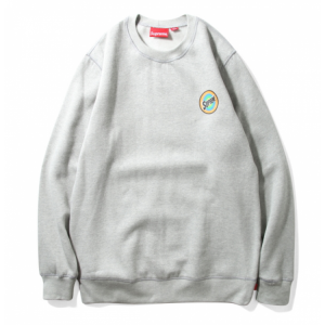 Supreme Color Circle Sweater (Gray)