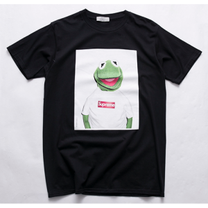 Supreme Frog Print T-Shirt (Black)