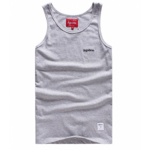 Supreme NYC Simple Tank Top (Gray)