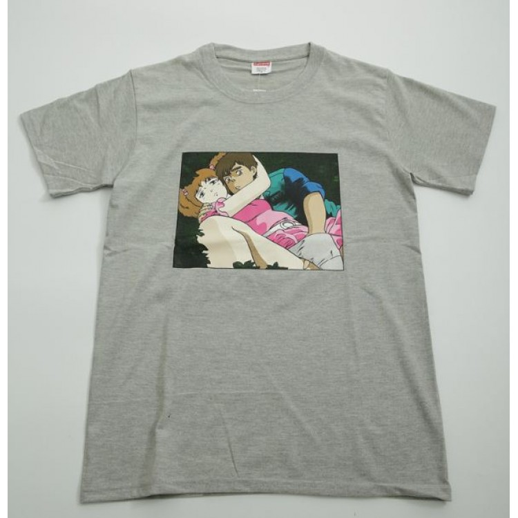 Supreme Comics Couple T-Shirt (Gray)