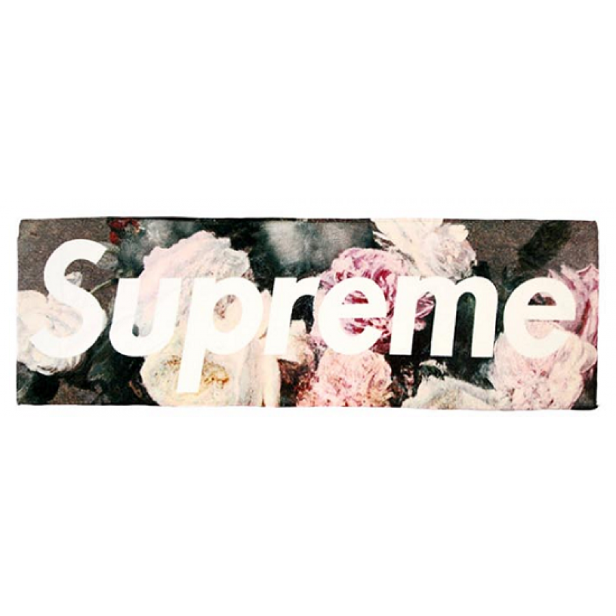 "Supreme ""Floral Logo"" Beach Towel"