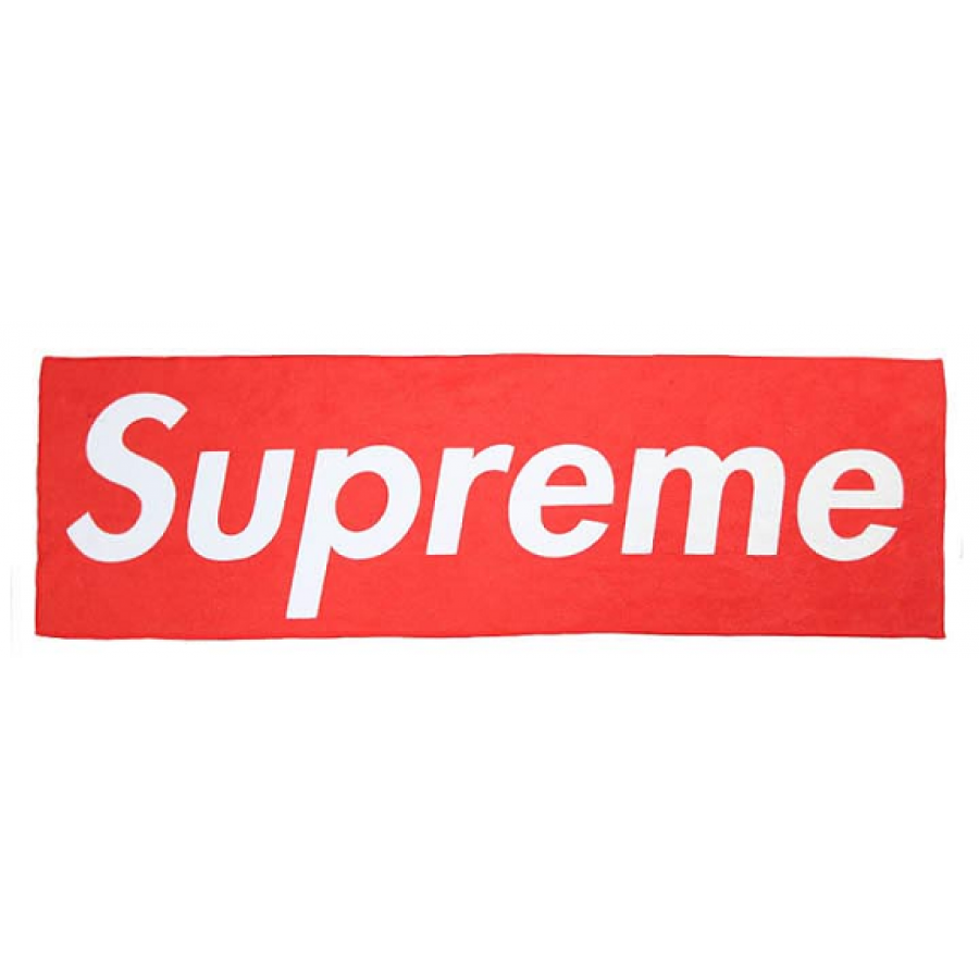 "Supreme ""Logo"" Beach Towel (Red)"