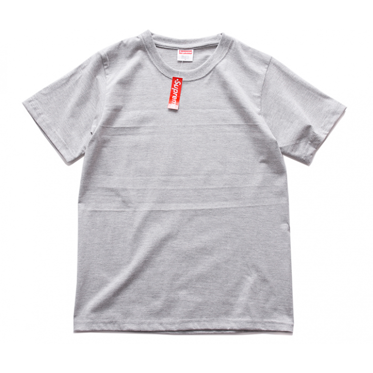 Supreme Mendini Colored Pistol Crewneck Tee (Light/Gray)