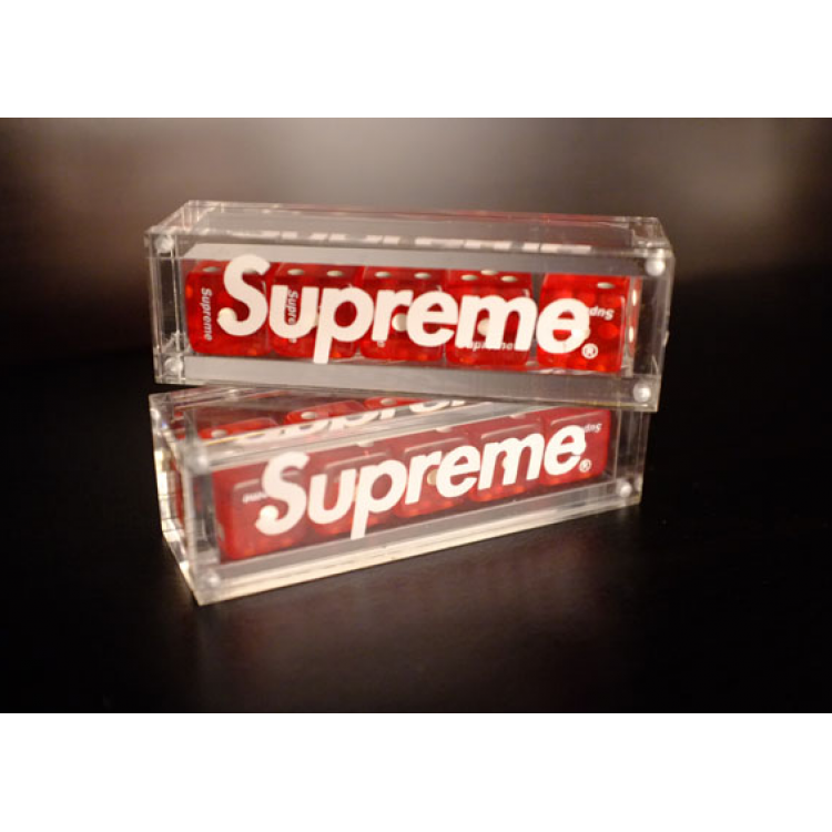 Supreme NYC Dice Set (Red)