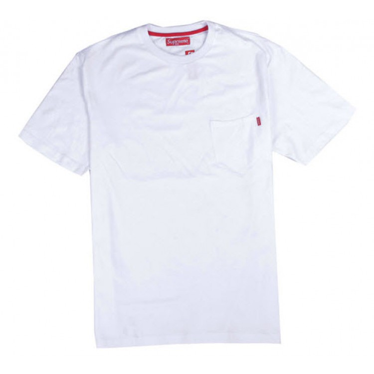 Supreme NYC Pocket T-shirt (White)