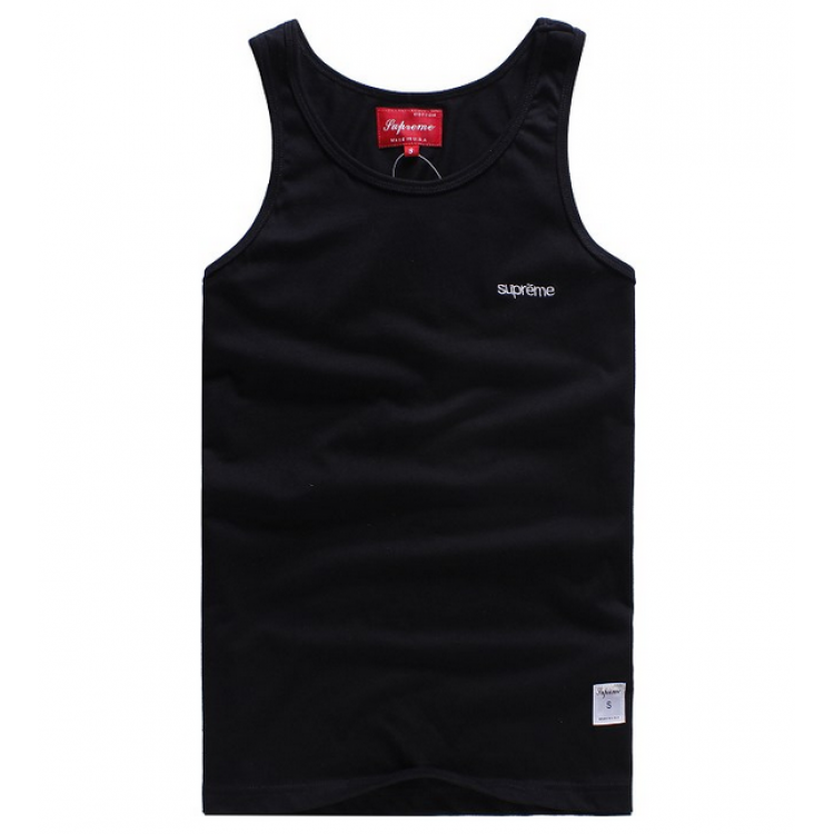 Supreme NYC Simple Tank Top (Black)