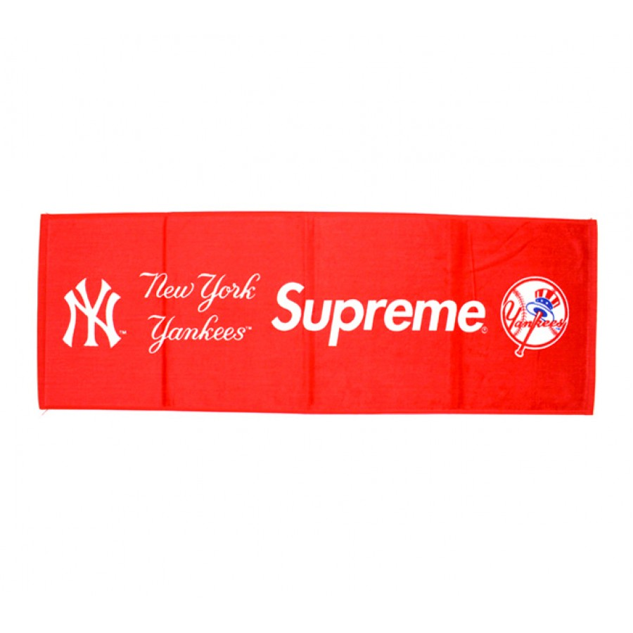 Supreme New York Yankees Towel (Red)