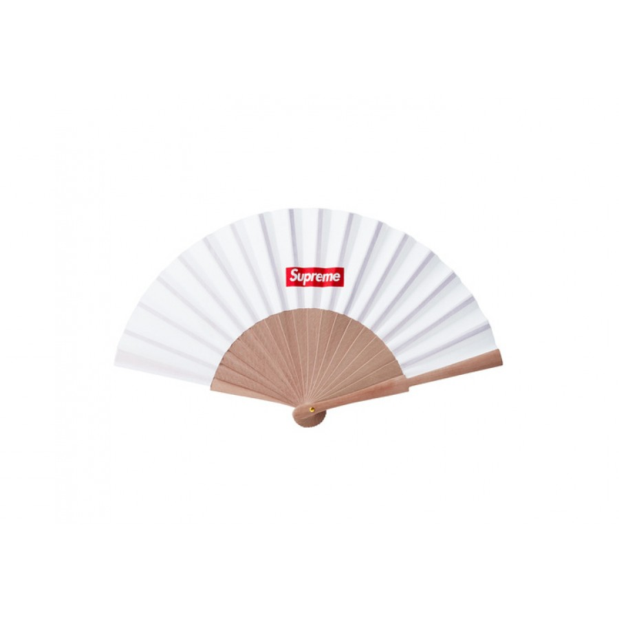 Supreme Sasquatchfabrix Folding Fan (White)