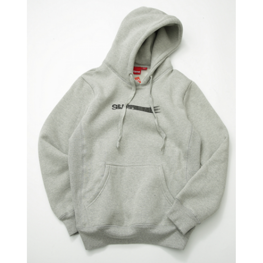 Supreme Shaded Logo Hoodie (Gray)
