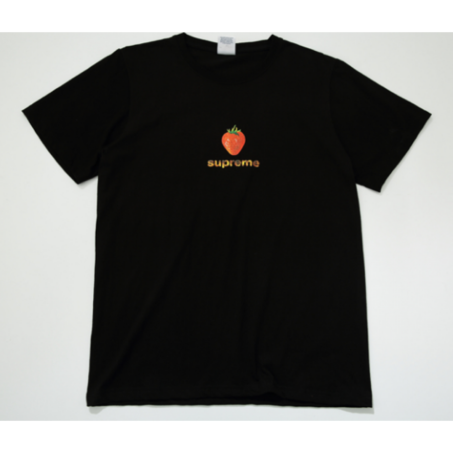 Supreme Strawberry T-Shirt (Black)