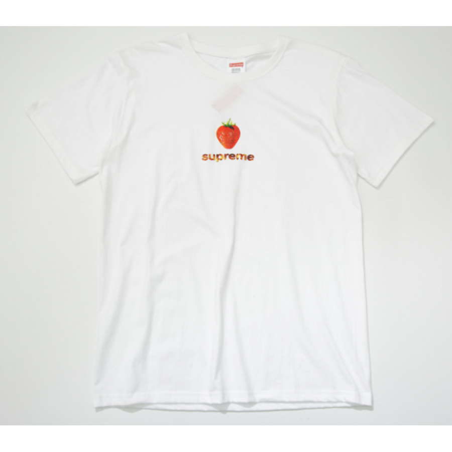 Supreme Strawberry T-Shirt (White)