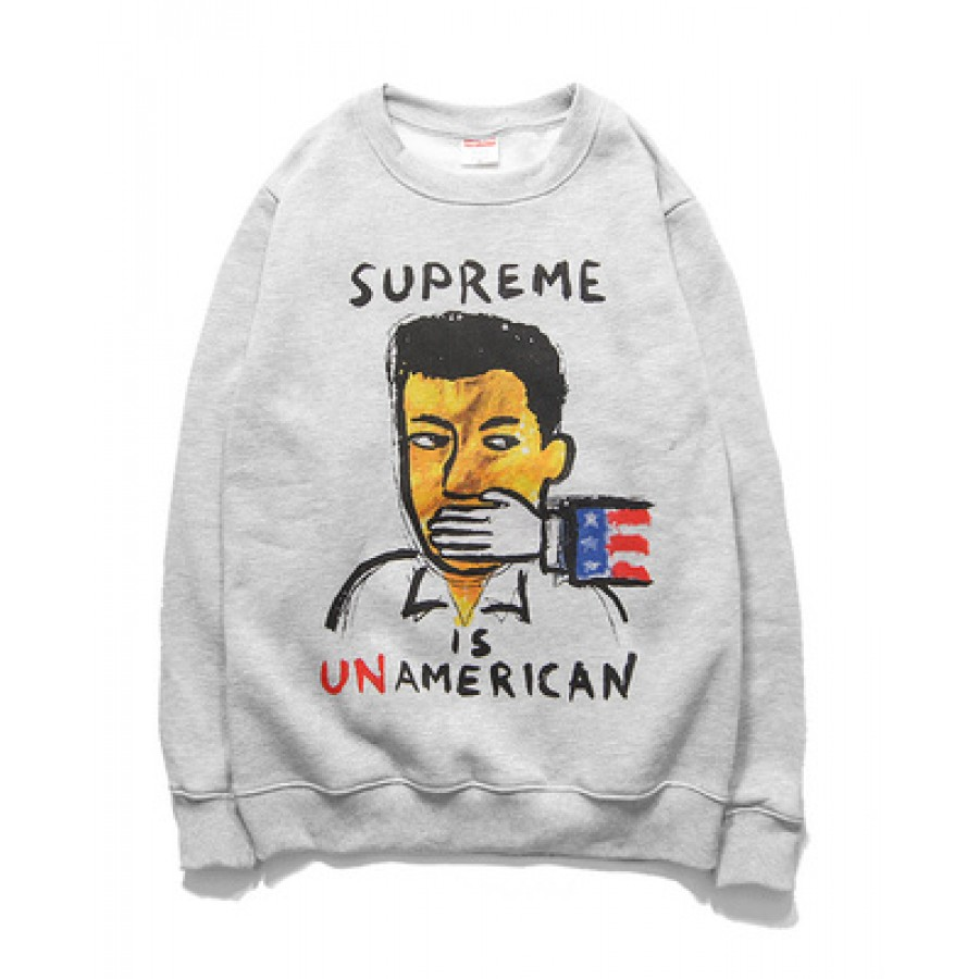 Supreme Unamerican Shut Sweater (Gray)