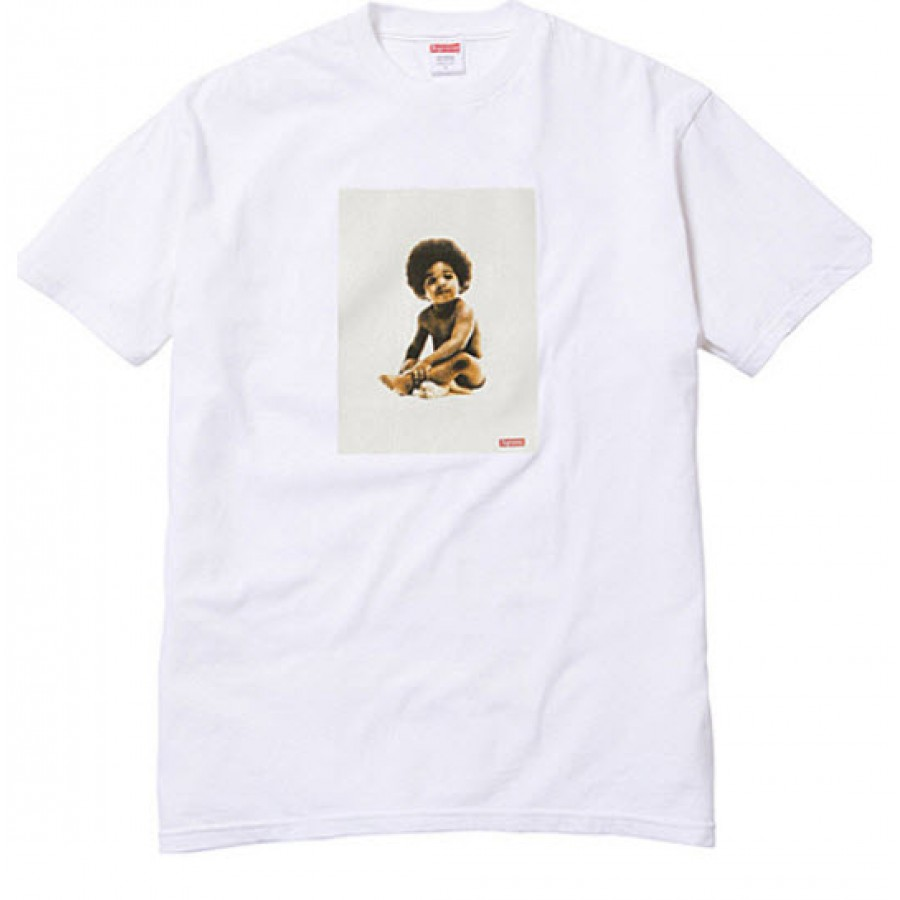 Supreme x Biggie Badboy T-Shirt Collection (White)