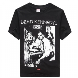 Supreme Dead Kennedys Inverted Letters T-Shirt (Black/Neongreen/White)