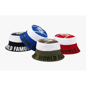 Supreme World Famous Bucket Hat Collection (Multicolor)