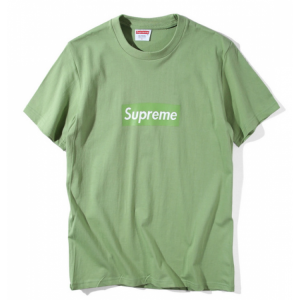 Supreme Box Logo Classic T-Shirt (Olive Green)